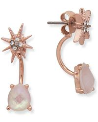 Lonna & Lilly - Crystal Star Post Earrings - Lyst