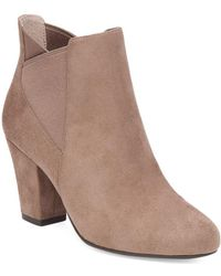 BCBGeneration - Dolan Microsuede Booties - Lyst
