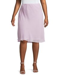 NIC+ZOE - Plus Paired-up Skirt - Lyst