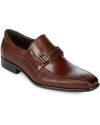 Kenneth Cole - Textured Loafers - Lyst