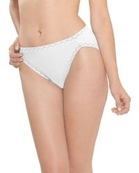 Natori - Bliss French Cut Briefs - Lyst