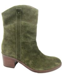Adrienne Vittadini - Fonzie Suede Ankle Boots - Lyst