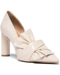 NIC+ZOE - Valentina Bow D'orsay Court Shoes - Lyst