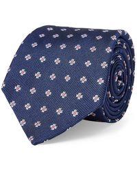 Lauren by Ralph Lauren - Cross Neat Silk Tie - Lyst
