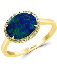 Effy 14k Yellow Gold - Blue
