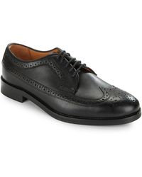Polo Ralph Lauren - Moseley Leather Oxfords - Lyst