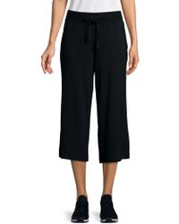 Marc New York - Cropped Wide Leg Pants - Lyst