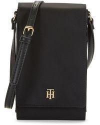 Tommy Hilfiger Julia Iphone Crossbody Bag - Black