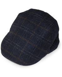 Weatherproof - Plaid Faux Fur-lined Newsboy Cap - Lyst