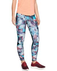 Under Armour Fly Fast Printed Tights - Blue