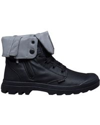 Palladium - Baggy Zip On Ankle Boots - Lyst