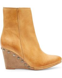 Matisse - Viper Leather Booties - Lyst
