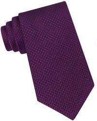 Calvin Klein - Classic Fit Micro Dot Textured Silk Tie - Lyst