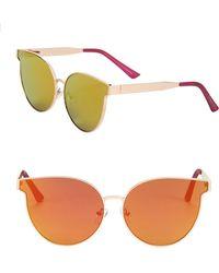 Circus by Sam Edelman - 55mm Cat Eye Sunglasses - Lyst