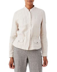 Olsen - Cotton Safari Jacket - Lyst