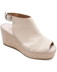 Andre Assous - Lina Ankle Strap Wedge Espadrilles - Lyst