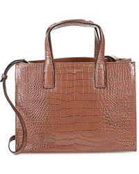 Kurt Geiger - London Embossed Leather Tote Bag - Lyst