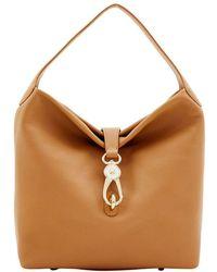 Dooney & Bourke - Logolock Leather Hobo Bag - Lyst
