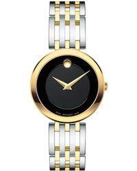 Movado Esperanza Stainless Steel & Goldtone Watch - Metallic