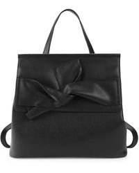 Circus by Sam Edelman Casey Bow Pvc Convertible Flap Backpack - Black