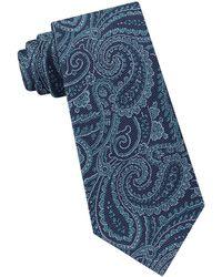 Michael Kors - Paisley Silk Tie - Lyst