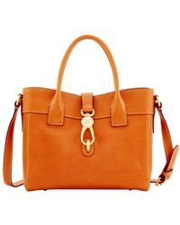 Dooney & Bourke - Amelie Leather Tote - Lyst