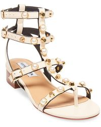 Steve Madden - Crowne Wrapped Block-heel Dress Sandals - Lyst