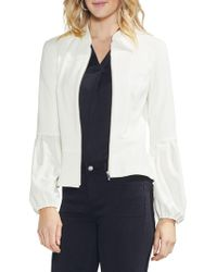 Vince Camuto - Puff-sleeve Zip Jacket - Lyst