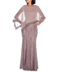 Decode 1.8 - Lace Poncho Gown - Lyst