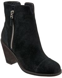 Softwalk - Fairhill Suede Booties - Lyst