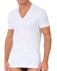 2xist | 2 Pack Stretch-cotton V-neck T-shirt | Lyst