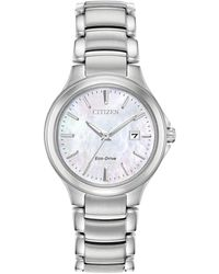 Citizen - Chandler Eco-drive Stainless Steel Watch - Lyst