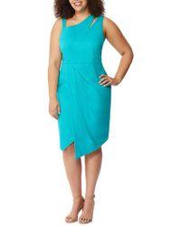 REBEL WILSON X ANGELS - Plus Asymmetrical Cutout Dress - Lyst