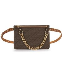 MICHAEL Michael Kors Logo Belt Bag - Brown