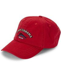 Tommy Bahama - Embroidered Cotton Baseball Cap - Lyst