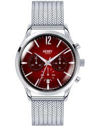 Henry London - Chancery Stainless Steel Analog Bracelet Watch - Lyst