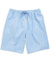 Polo Ralph Lauren - Striped Sleep Shorts - Lyst