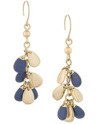 French Connection - Shaky Cluster Drop Earrings - Lyst