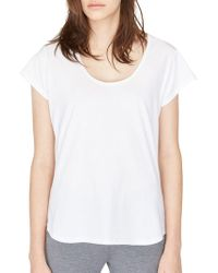 UGG - Solid Cotton Tee - Lyst