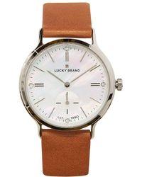 Lucky Brand Ventana Leather Watch - Multicolour