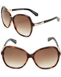 Kate Spade - 58mm Jolyn Square Sunglasses - Lyst