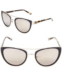 Ted Baker - 60mm Butterfly Sunglasses - Lyst