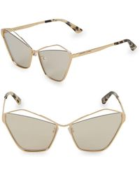 McQ - 64mm Butterfly Sunglasses - Lyst