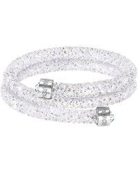 Swarovski - Crystaldust Bangle Bracelet - Lyst