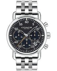 COACH - Delancey Stainless Steel Bracelet Watch - Lyst