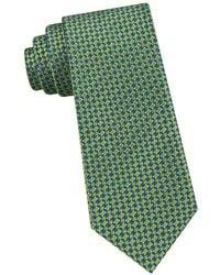 97161c6fdbe9d1 Lyst - Ted Baker Textured Silk Tie in Purple for Men
