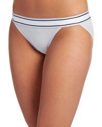 Jockey - Retro Stripe String Bikini Briefs - Lyst