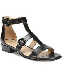 Naturalizer - Mabel Leather Sandals - Lyst