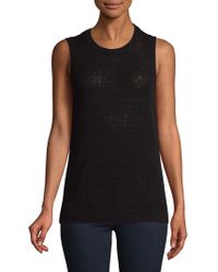 Lord & Taylor - Petite Sleeveless Knitted Top - Lyst