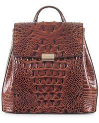 Brahmin - Margo Textured Backpack - Lyst